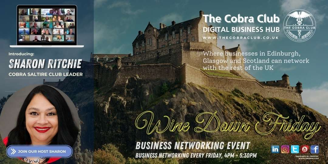 Wine Down Friday - The Cobra Club - Business Networking