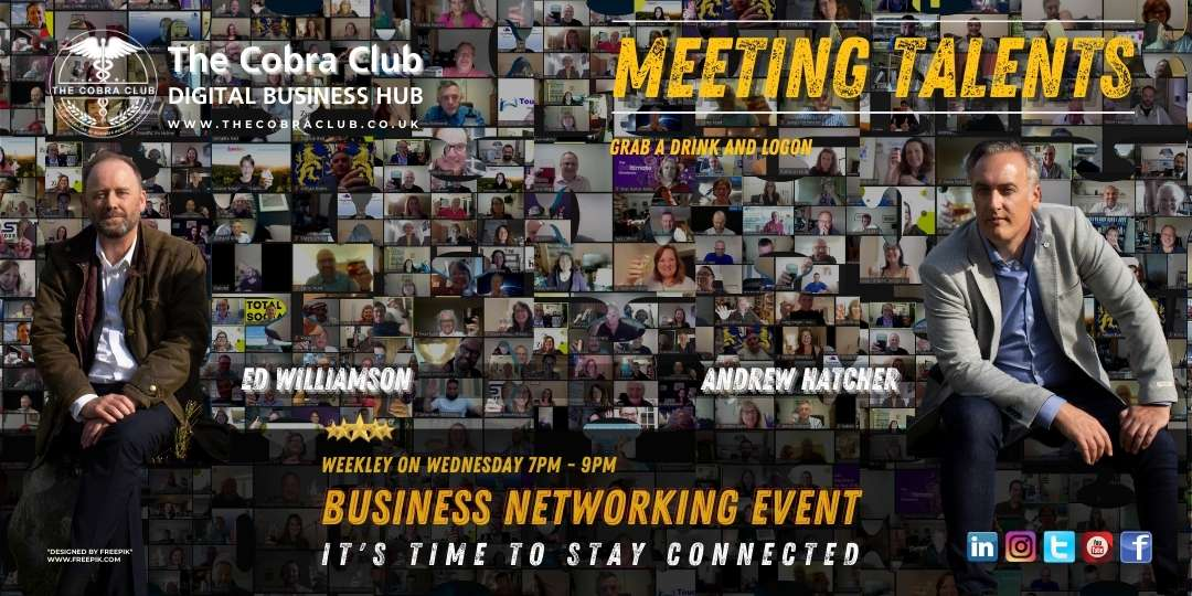 The Cobra Club, Meeting Talents, Swindon, Wilshire, Business Networking Event