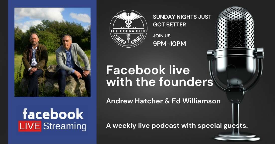 The Gritty Business Show, Facebook Live, The Cobra Club