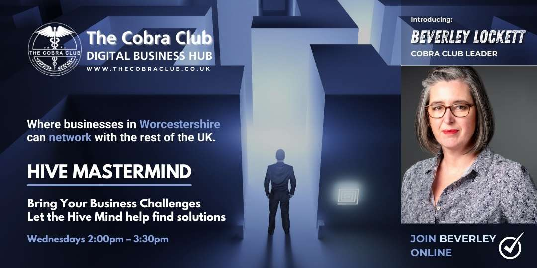 Hive Mastermind - Business Networking - The Cobra Club