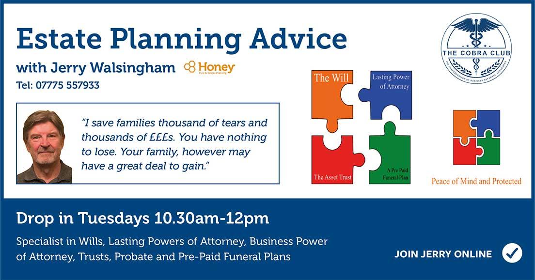 Jerry Walsingham - Estate Planning Advice